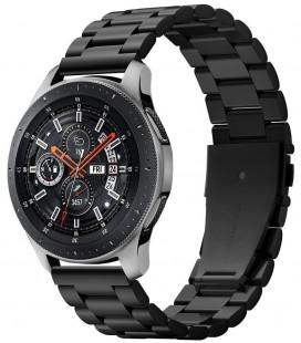 "Juoda apyrankė Samsung Galaxy Watch 46mm laikrodžiui ""Spigen Modern Fit Band"""