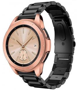 """Juoda apyrankė Samsung Galaxy Watch 46mm laikrodžiui """"Tech-Protect Stainless"""""""