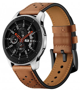 "Ruda apyrankė Samsung Galaxy Watch 46mm laikrodžiui ""Tech-Protect Leather"""