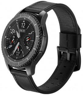 """Juoda apyrankė Samsung Galaxy Watch 46mm laikrodžiui """"Tech-Protect Herms"""""""