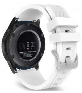 """Balta apyrankė Samsung Galaxy Watch 46mm laikrodžiui """"Tech-Protect Smoothband"""""""