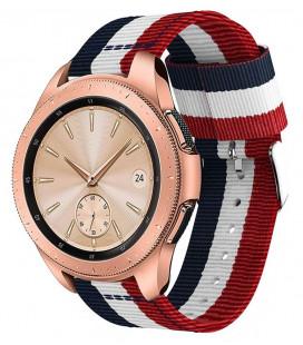 "Mėlyna/raudona apyrankė Samsung Galaxy Watch 46mm laikrodžiui ""Tech-Protect Welling"""