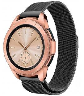 """Juoda apyrankė Samsung Galaxy Watch 42mm laikrodžiui """"Tech-Protect Milaneseband"""""""