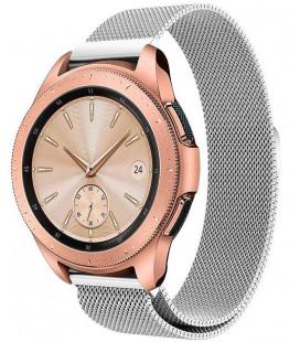 """Sidabrinės spalvos apyrankė Samsung Galaxy Watch 42mm laikrodžiui """"Tech-Protect Milaneseband"""""""