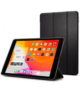 """Juodas atverčiamas dėklas Apple iPad 10.2 2019 planšetei """"Spigen Smart Fold"""""""
