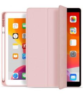 """Rožinis atverčiamas dėklas Apple iPad 10.2 2019 planšetei """"Tech-Protect SC Pen"""""""