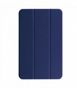 Dėklas Smart Leather Samsung T590/T595 Tab A 10.5 2018 tamsiai mėlynas