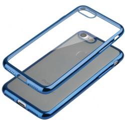 """Mėlynas silikoninis dėklas Apple iPhone 7 Telefonui """"Glossy"""""""