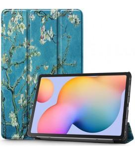 """Atverčiamas dėklas (Sakura) Samsung Galaxy Tab S6 Lite 10.4 P610/P615 planšetei """"Tech-Protect Smartcase"""""""