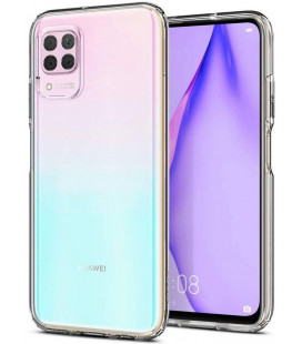 "Skaidrus dėklas Huawei P40 Lite telefonui ""Spigen Liquid Crystal"""
