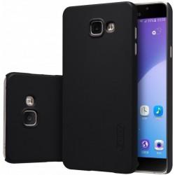 """Juodas plastikinis dėklas Samsung Galaxy A5 2016 A510 telefonui """"Nillkin Frosted Shield"""""""