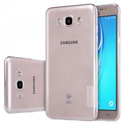 """Skaidrus silikoninis dėklas Samsung Galaxy J7 2016 J710 Telefonui """"Nillkin Nature"""""""
