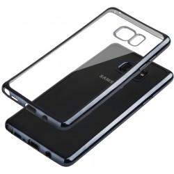 """Juodas silikoninis dėklas Samsung Galaxy Note 7 N930 telefonui """"Glossy"""""""