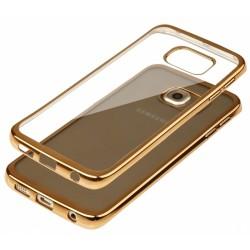 """Auksinės spalvos silikoninis dėklas Samsung Galaxy Note 7 N930 telefonui """"Glossy"""""""