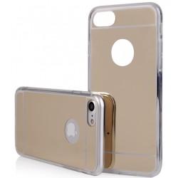 """Auksinės spalvos silikoninis dėklas Apple iPhone 7 telefonui """"Mirror"""""""