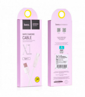 USB kabelis Hoco X1 Type-C 1.0m baltas