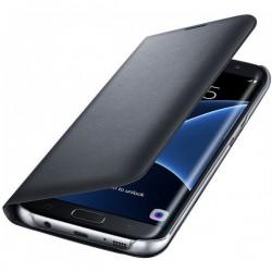 """Originalus atverčiamas juodas dėklas """"Flip Wallet"""" Samsung Galaxy S7 Edge G935 telefonui ef-wg935pbe"""