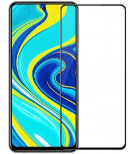 """Juodas apsauginis grūdintas stiklas Xiaomi Redmi Note 9S/9 Pro/9 Pro Max telefonui """"Nillkin Amazing 2.5D CP+ Pro"""""""