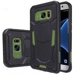 """Žalias dėklas Samsung Galaxy S7 Edge G935 telefonui """"Nillkin Defender 2"""""""