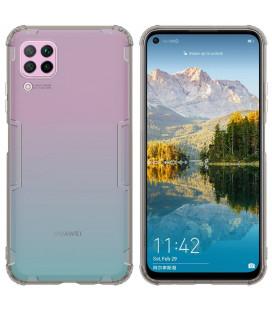 """Skaidrus/pilkas dėklas Huawei P40 Lite telefonui """"Nillkin Nature"""""""