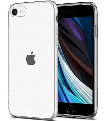 "Skaidrus dėklas Apple iPhone 7/8/SE 2020 telefonui ""Spigen Liquid Crystal"""
