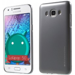 """Pilkas silikoninis dėklas Samsung Galaxy J3 2016 J320 telefonui """"Mercury iJelly Case Metal"""""""