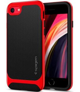 "Raudonas dėklas Apple iPhone 7/8/SE 2020 telefonui ""Spigen Neo Hybrid"""