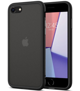 "Juodas dėklas Apple iPhone 7/8/SE 2020 telefonui ""Spigen Ciel Color Brick"""