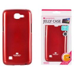 """Raudonas silikoninis dėklas Mercury Goospery """"Jelly Case"""" LG K4 K130 telefonui"""