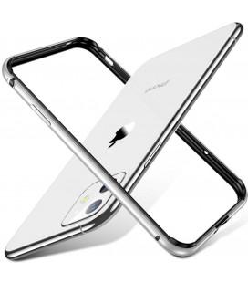 """Sidabrinės spalvos dėklas Apple iPhone 11 telefonui """"ESR Edge Guard"""""""