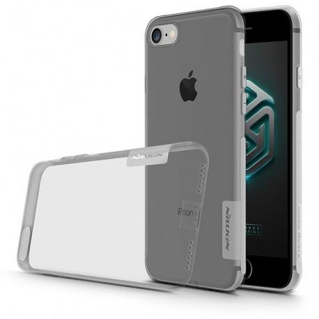 "Pilkas silikoninis dėklas Apple iPhone 7 telefonui ""Nillkin Nature"""
