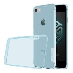 "Mėlynas silikoninis dėklas Apple iPhone 7 Telefonui ""Nillkin Nature"""