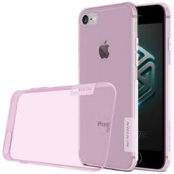 """Rožinis silikoninis dėklas Apple iPhone 7/8 Telefonui """"Nillkin Nature"""""""