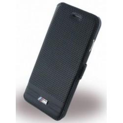 """Juodas atverčiamas dėklas Apple iPhone 7 telefonui """"BMW"""""""