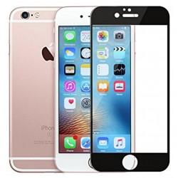 """Stiklo apsauga - lenktas juodas grūdintas stiklas """"Tempered Glass"""" Apple iPhone 7 telefonui."""