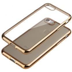 """Auksinės spalvos silikoninis dėklas Apple iPhone 7 Telefonui """"Glossy"""""""