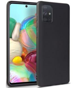 """Juodas dėklas Samsung Galaxy A41 telefonui """"Tech-protect Icon"""""""