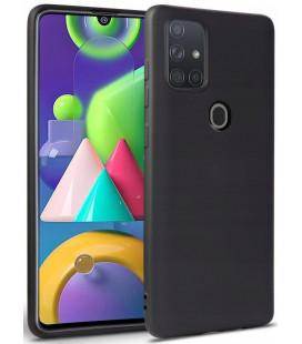 """Juodas dėklas Samsung Galaxy M21 telefonui """"Tech-protect Icon"""""""