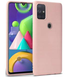 """Rožinis dėklas Samsung Galaxy M21 telefonui """"Tech-protect Icon"""""""