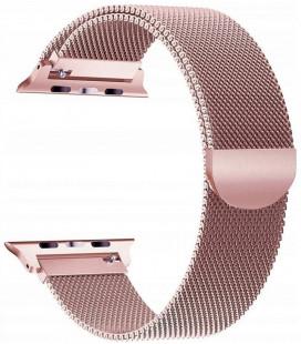 """Rausvai auksinės spalvos apyrankė Apple Watch 1/2/3/4/5 (42/44mm) laikrodžiui """"Tech-Protect Milaneseband"""""""