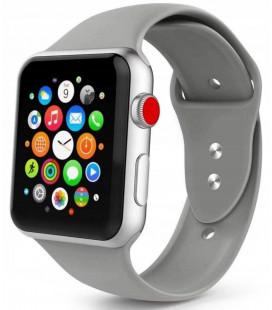 """Pilka apyrankė Apple Watch 1/2/3/4/5 (42/44mm) laikrodžiui """"Tech-Protect Smoothband"""""""