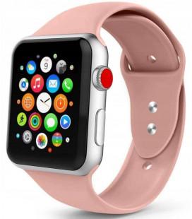 """Rožinė apyrankė Apple Watch 1/2/3/4/5 (42/44mm) laikrodžiui """"Tech-Protect Smoothband"""""""