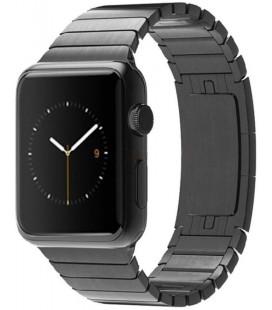 """Juoda apyrankė Apple Watch 1/2/3/4/5 (42/44mm) laikrodžiui """"Tech-Protect Linkband"""""""