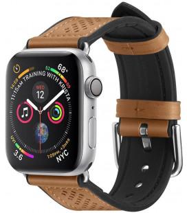 "Ruda apyrankė Apple Watch 1/2/3/4/5 (42/44mm) laikrodžiui ""Spigen Retro Fit Band"""