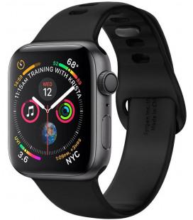 "Juoda apyrankė Apple Watch 1/2/3/4/5/6/SE (42/44mm) laikrodžiui ""Spigen Air Fit Band"""