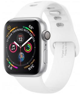 """Balta apyrankė Apple Watch 1/2/3/4/5/6/SE (42/44mm) laikrodžiui """"Spigen Air Fit Band"""""""