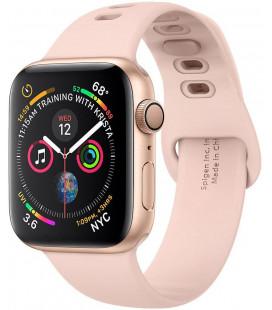 """Rausvai auksinės spalvos apyrankė Apple Watch 1/2/3/4/5/6/SE (42/44mm) laikrodžiui """"Spigen Air Fit Band"""""""