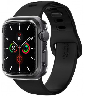 "Skaidrus dėklas Apple Watch 4/5/6/SE (44mm) laikrodžiui ""Spigen Ultra Hybrid"""