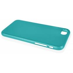 """Mėlynas silikoninis dėklas Apple iPhone 7 telefonui """"Jelly Metallic"""""""