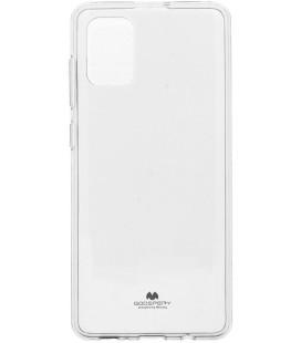 """Skaidrus silikoninis dėklas Samsung Galaxy A71 telefonui """"Mercury Goospery Pearl Jelly Case"""""""